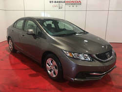 2013 Honda Civic LX + BAS KM + CERTIFIED