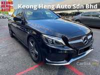 2018 Mercedes-Benz C200 2.0 AMG Full Service Record Under Warranty Actual Year Make
